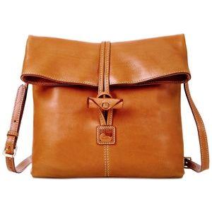 Dooney & Bourke Florentine Leather Toggle Crossbod